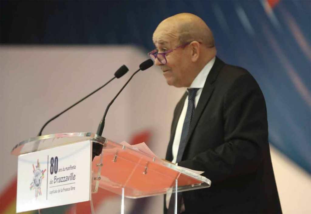 Jean Yves Le Driand, Ministre des Affaires Etrangères et de l'Europe