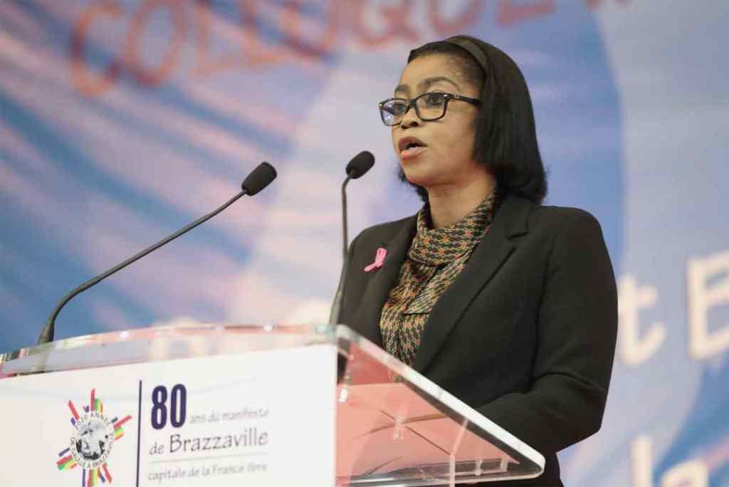 Rose Christiane Ossouka Raponda, Première Ministre du Gabon